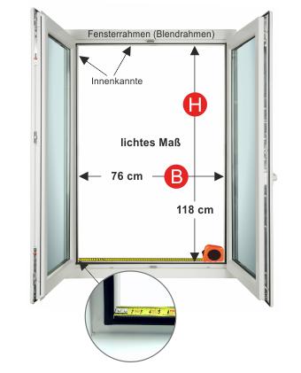 Sehr Insektenschutz Fenster | Spannrahmen | Fenster | HPS BY92