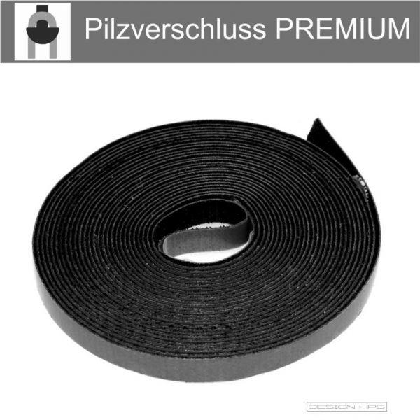 Klettband für Fliegengitter selbstklebend schwarz