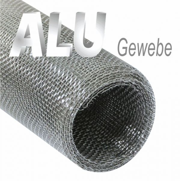 Aluminium Gewebe 1,00 m x 5,00 m