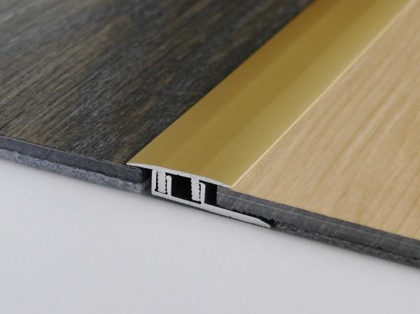 Premium Click Übergang PF 578 V,Alu eloxiert silber 0,9m lang,